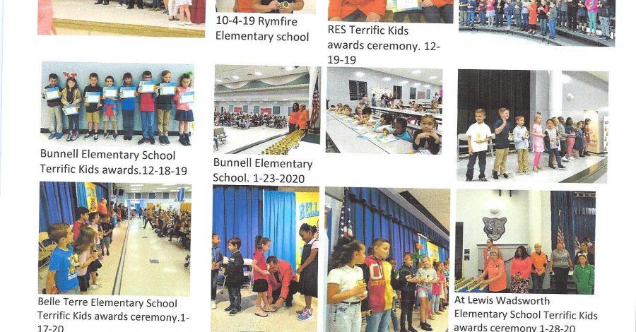 Terrific Kids & Bug Awards Program